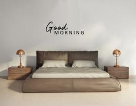 Muursticker - Good Morning