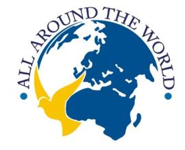 sticker All around the world