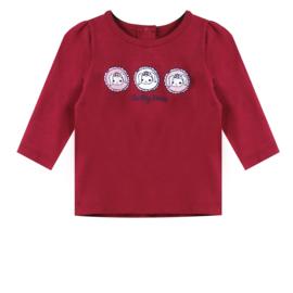 Ducky beau shirt rumba red maat 50