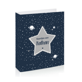 Baby Stars - Space Kaartjes Bewaarmap