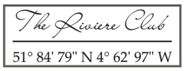 The River House Sticker | The Riviere Club