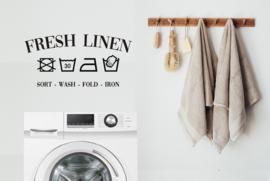 Sticker 'Fresh Linen'