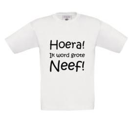 Shirt - Hoera! Ik word grote Neef!