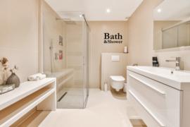 Badkamer sticker Bath & Shower