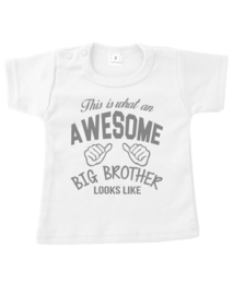 Shirt This is what an awesome big brother looks like