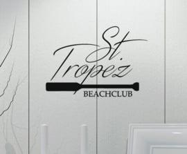 Sticker St. Tropez beachclub