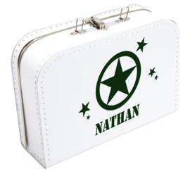 Koffertje stoer met naam