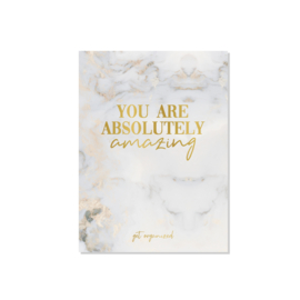 Get Organized - Kaart - You Are Absolutely Amazing