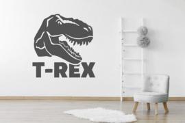 Muursticker T-rex