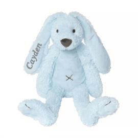 happy horse knuffel rabbit blue 28 cm met / zonder naam naar wens