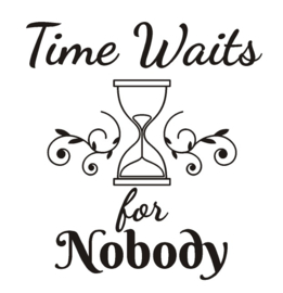 Sticker Time waits for nobody