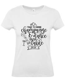 Dames shirt champagne and
