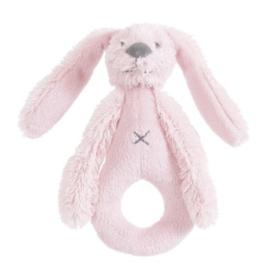 Happy Horse Knuffel rammelaar pink konijn met/zonder naam