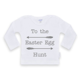 Shirt  To the easter egg hunt