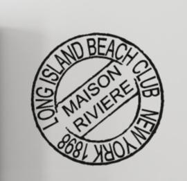 Sticker stempel Long island