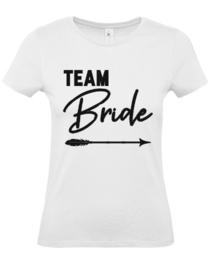 Dames shirt Team Bride