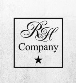 Sticker rh company met ster