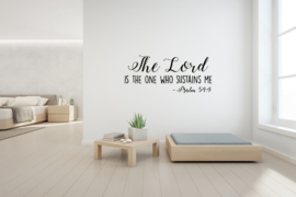 Sticker  The Lord is