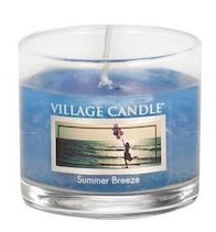 Village Candle Summer Breeze glass votive