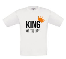 Shirt 'King of the day'