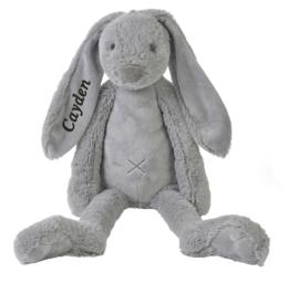 Happy horse knuffel konijn licht grijs 38 cm