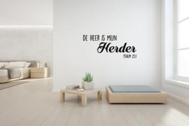Sticker De heer is mijn Herder