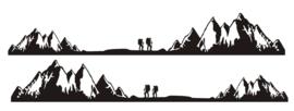 Striping stickerset hiker 1.75