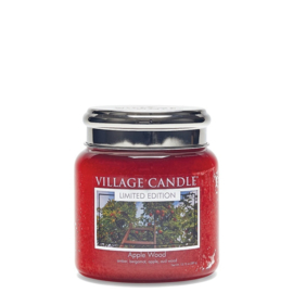 Village Candle Apple wood Medium Candle