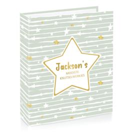 Baby Stars | Stars & Stripes - Knutselwerkjes bewaarmap