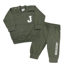 Pyjama - Initiaal met naam   Stoer