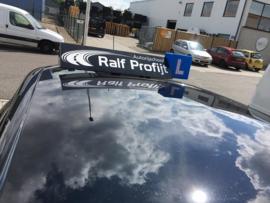 Borden en logo voor Ralf Profijt