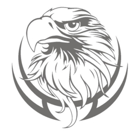 Wheelcover sticker eagle