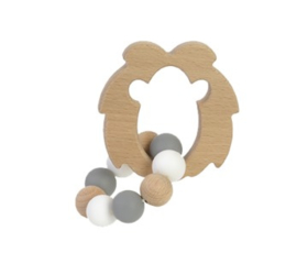 Bambam Bamboo lion teether bijtring