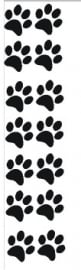 Sticker vel kattenpootjes