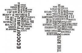 muursticker bedrijfs sticker boom met bedrijfsnaam + teksten