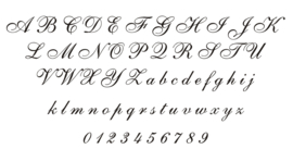 Bedruk & Sticker Lettertypes