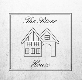 Logosticker the river house