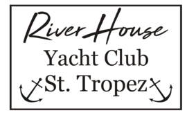 Sticker River house yacht club st tropez