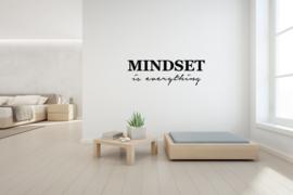 Muursticker - Mindset is everything