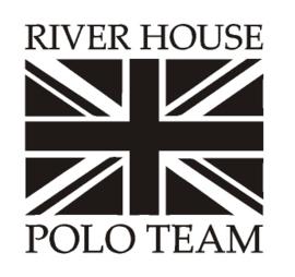 Sticker River house polo team Flag
