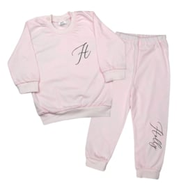 Pyjama - Initiaal + Naam   Sierlijk