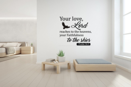 Sticker Your love Lord