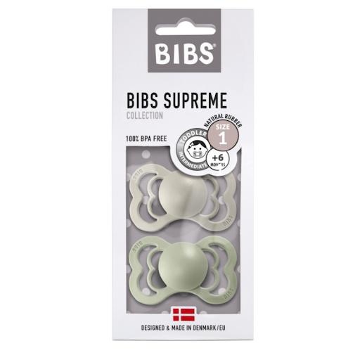 BIBS Blister T2 - Supreme Sage/Smoke