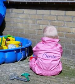 Kinderoverall Roze kan ook met naam