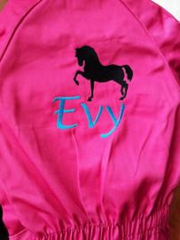 Kinder overall Paard kan ook met naam