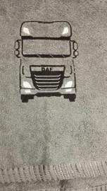 Handdoek met afbeelding truck
