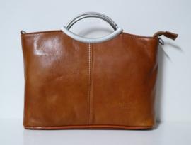 Hand- en schoudertas art. 552506 - cognac