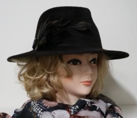 Weba Hats dameshoed art. 910 - donkerbruin