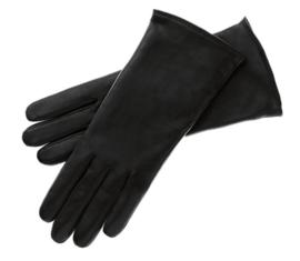 Roeckl lederen dameshandschoen Classic Wool art. 13011-202 - zwart