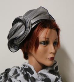 Complit dameshoed art. 10914 - zilver/zwart